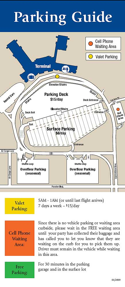 Charleston International Airport Parking