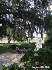 Middleton Place Garden Statue