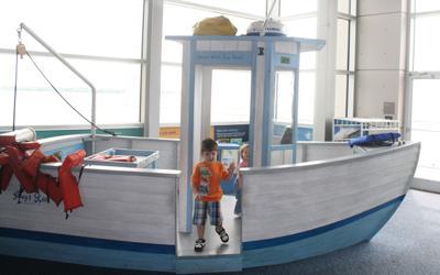 At the SC Aquarium