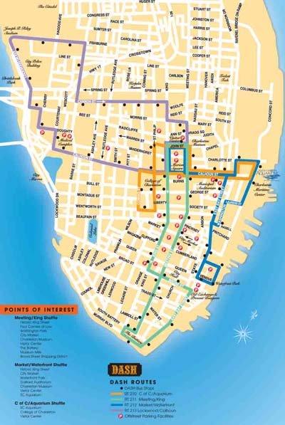 Carta Dash Route Map