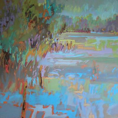 Jane Schmidt at Atelier Gallery