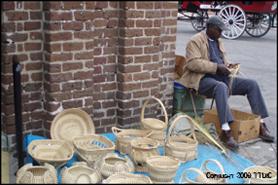 Sawgrass Baskets Downtown Charleston Market